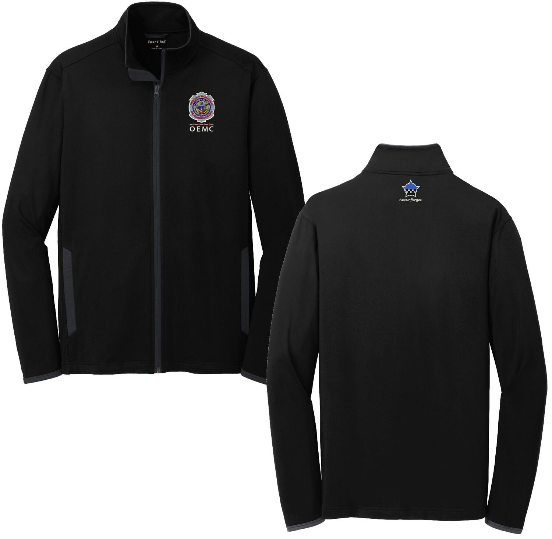 OEMC Sport-Wick® Stretch Contrast Full-Zip Jacket ST853