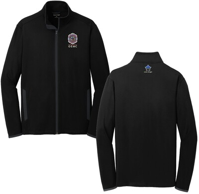 OEMC Sport-Wick® Stretch Contrast Full-Zip Jacket ST853