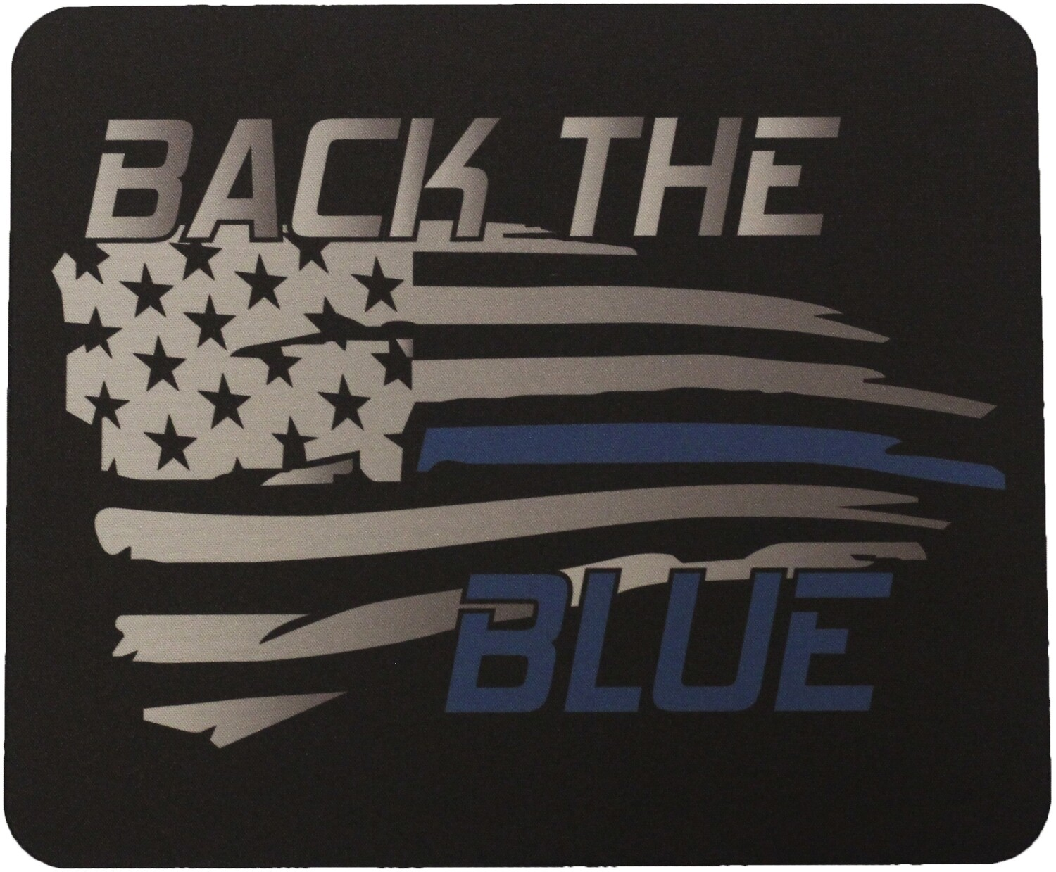 Blue Line Back The Blue Mouse Pad Sublimated