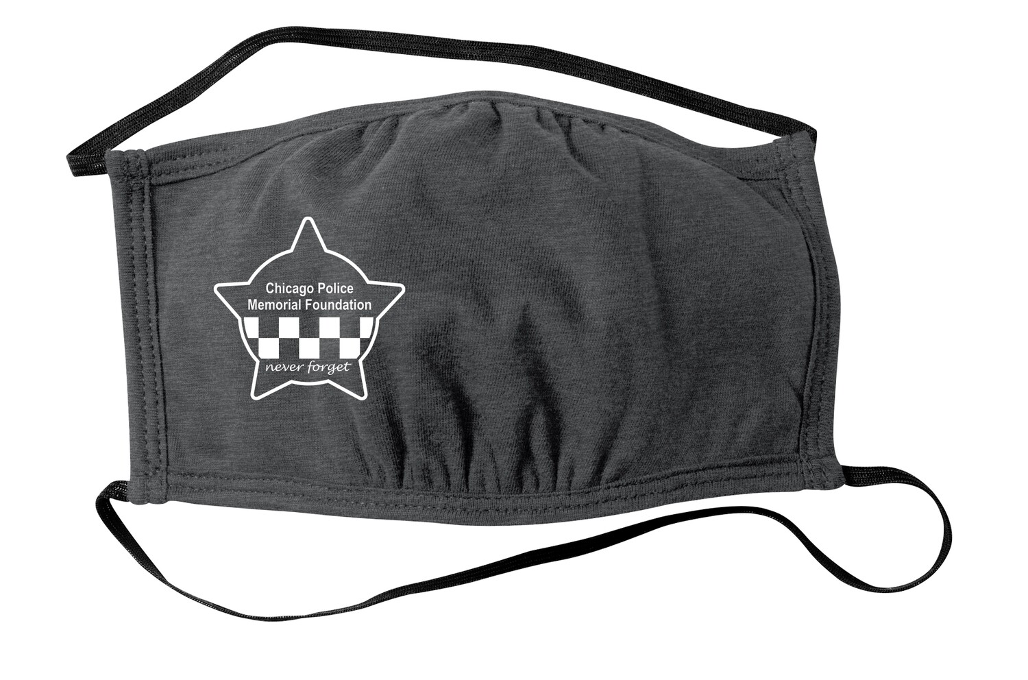CPD Memorial Three-Ply Face Mask Charcoal