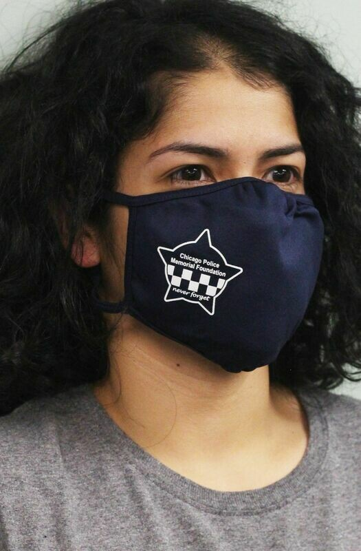 CPD Memorial Star PosiCharge Adjustable Navy Fask Mask