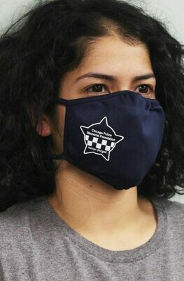 CPD Memorial Star PosiCharge Adjustable Navy Fask Mask