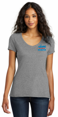 2021 Ladies V-Neck Roll Call Short Sleeve Shirt