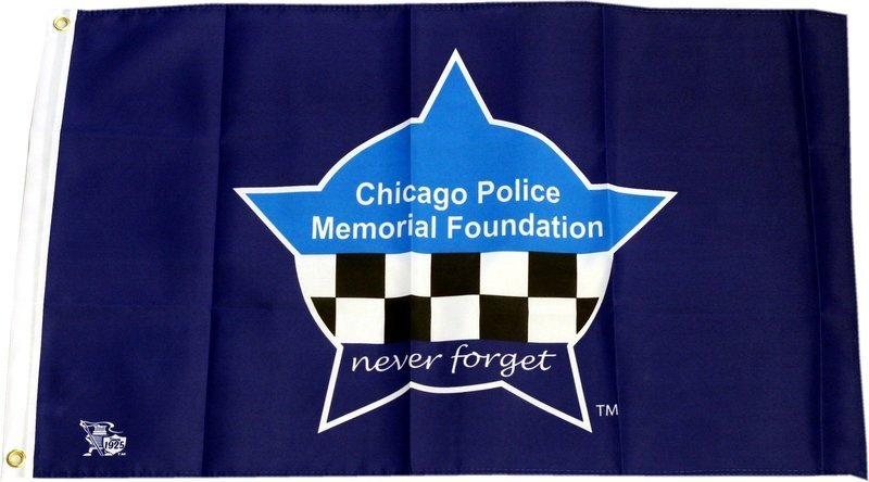 2ft X 3ft CPD Memorial Foundation Heavy Duty Flag