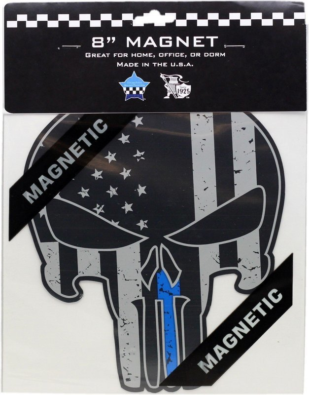 Punisher Blue Line Magnet 8
