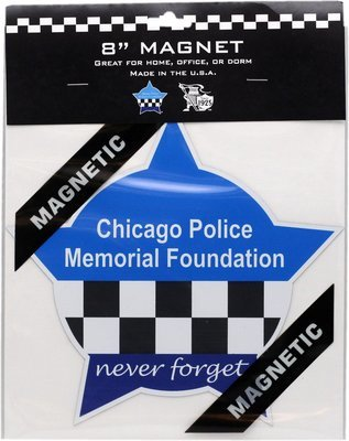 CPD Memorial Foundation Star Magnet 8