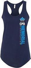 CPD Memorial Women's Tank Top Vertical Logo