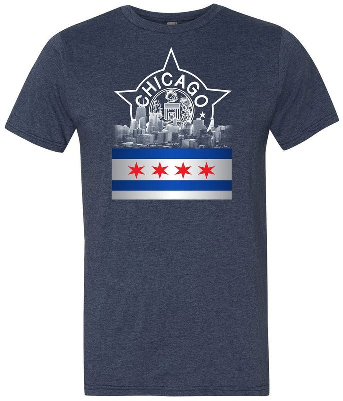 Chicago Police Rising Star Memorial Shirt
