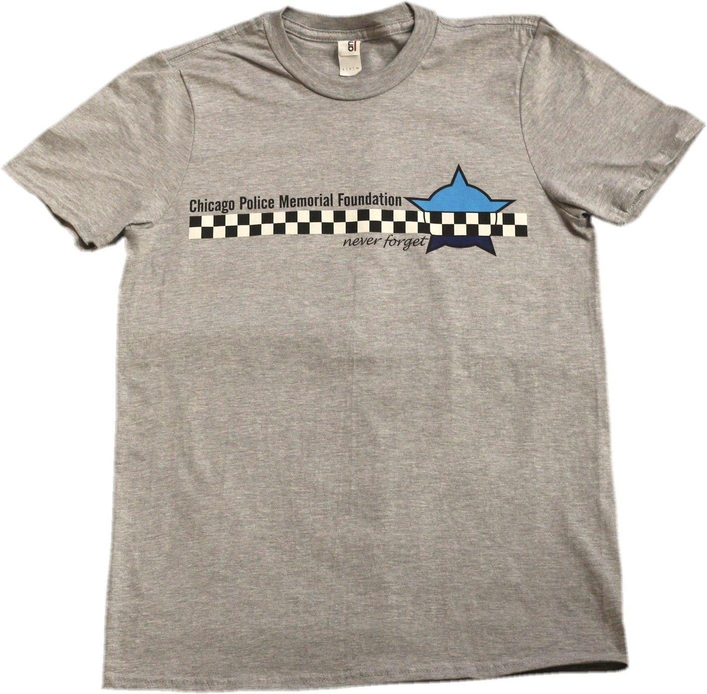 Chicago Police Memorial Foundation Never Forget T-shirt