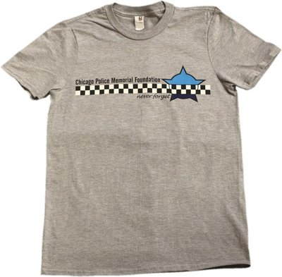 Chicago Police Memorial Foundation Never Forget T-shirt