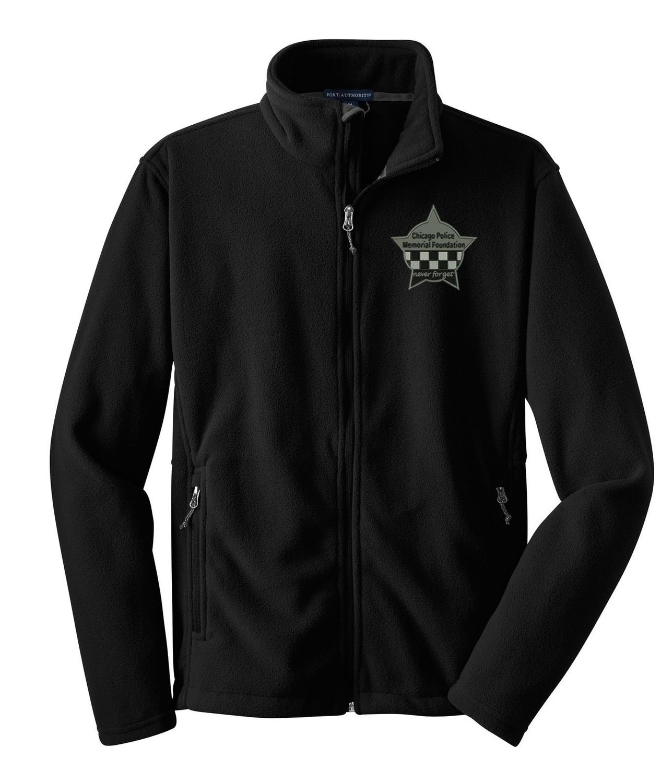 CPD Memorial Full Zip Fleece Jacket W/Embroidered Star Logo F217