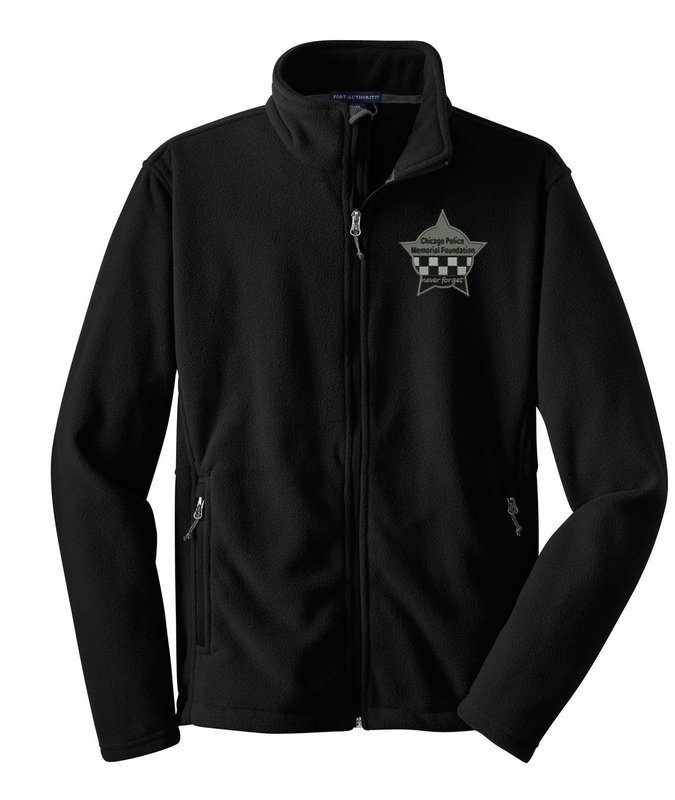 CPD Memorial Full Zip Fleece Jacket W/Embroidered Star Logo F217