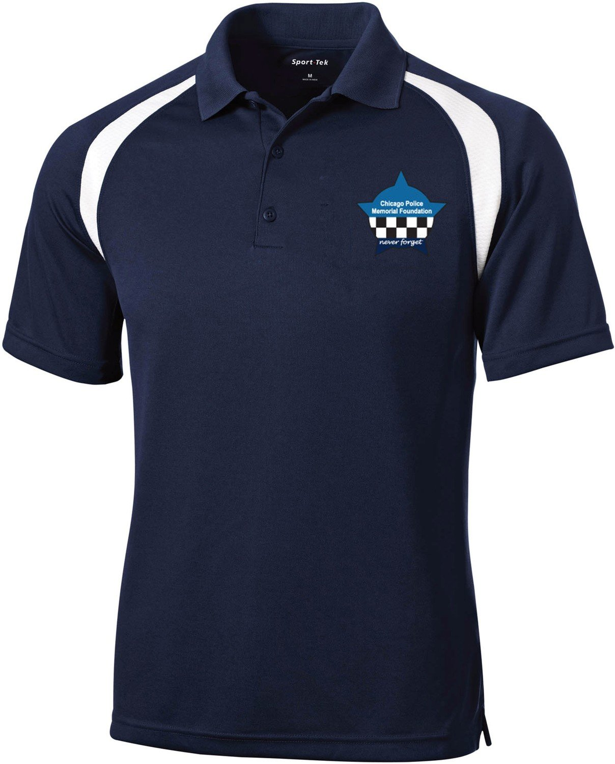 CPD Memorial Foundation Navy Polo Shirt T476