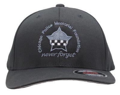 CPD Memorial Black Flexfit Hat W/Embroidered Star