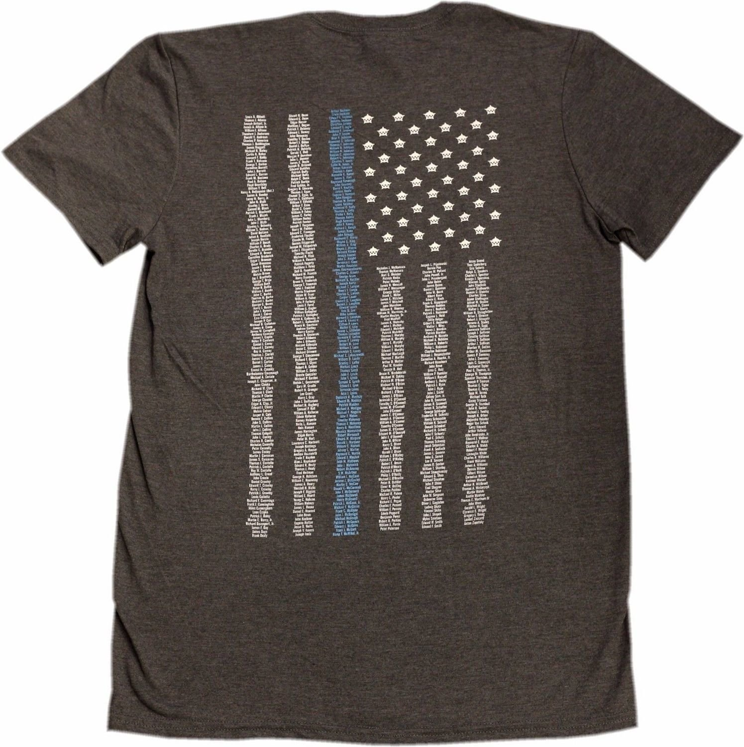 Chicago Police Memorial Foundation Name T-Shirt 2017