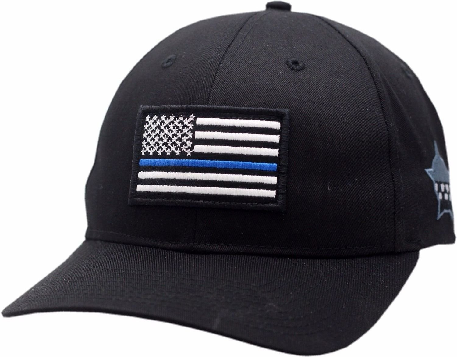 Blue Line American Flag CPD Memorial Foundation Flex Fit Hat
