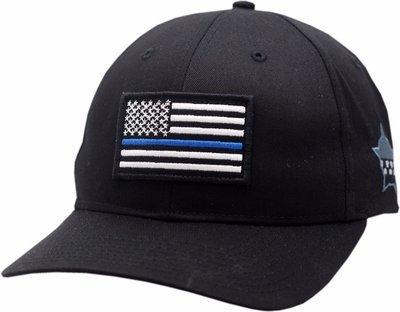 Blue Line American Flag CPD Memorial Foundation Flex Fit Hat