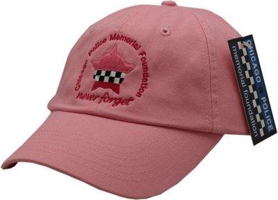 CPD Memorial Foundation Pink Buckle Back Cap