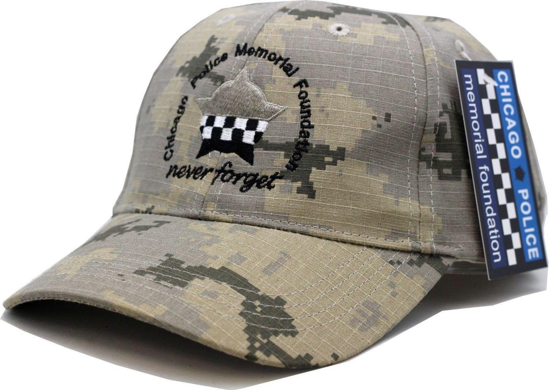 CPD Memorial Digi Camo Adjustable Strap Hat