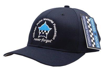 Chicago Police Memorial Navy Adjustable Strap Hat