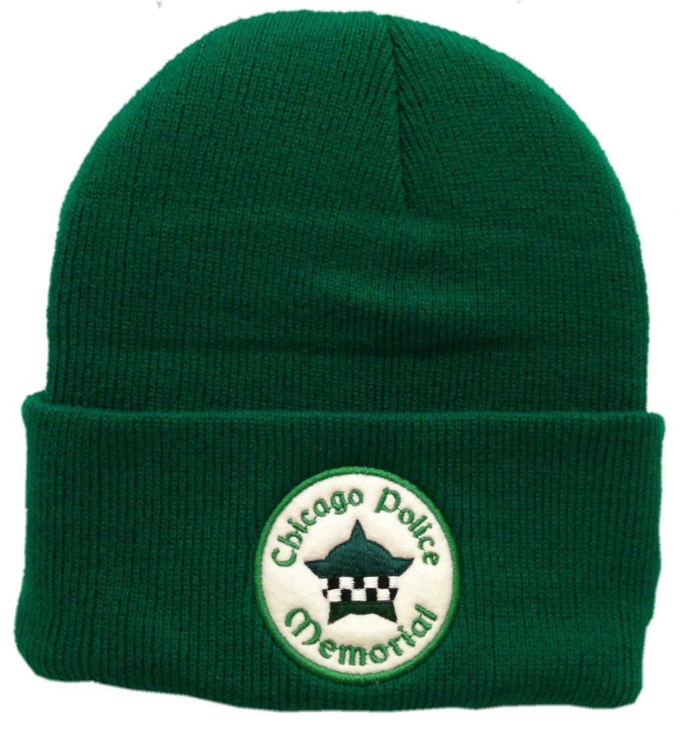 CPD Memorial Irish Green Cuffed Knit Hat