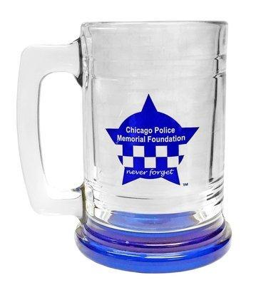 CPD Memorial Glass 16 oz Stein Mug