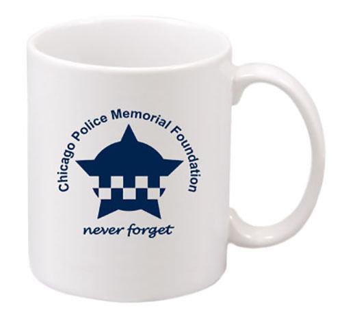 CPD Memorial Never Forget American Flag 11 oz Mug