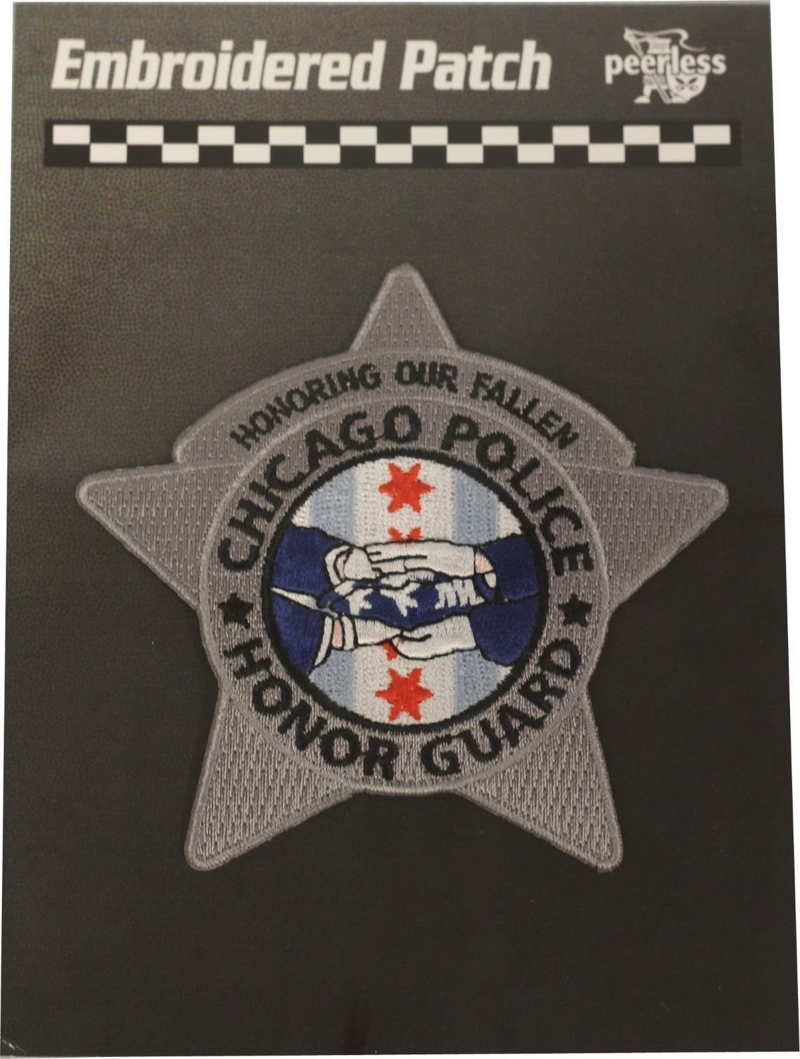 Chicago Police Honor Guard Star Patch