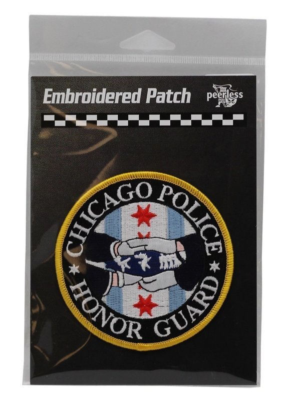 Chicago Police Honor Guard Round Patch