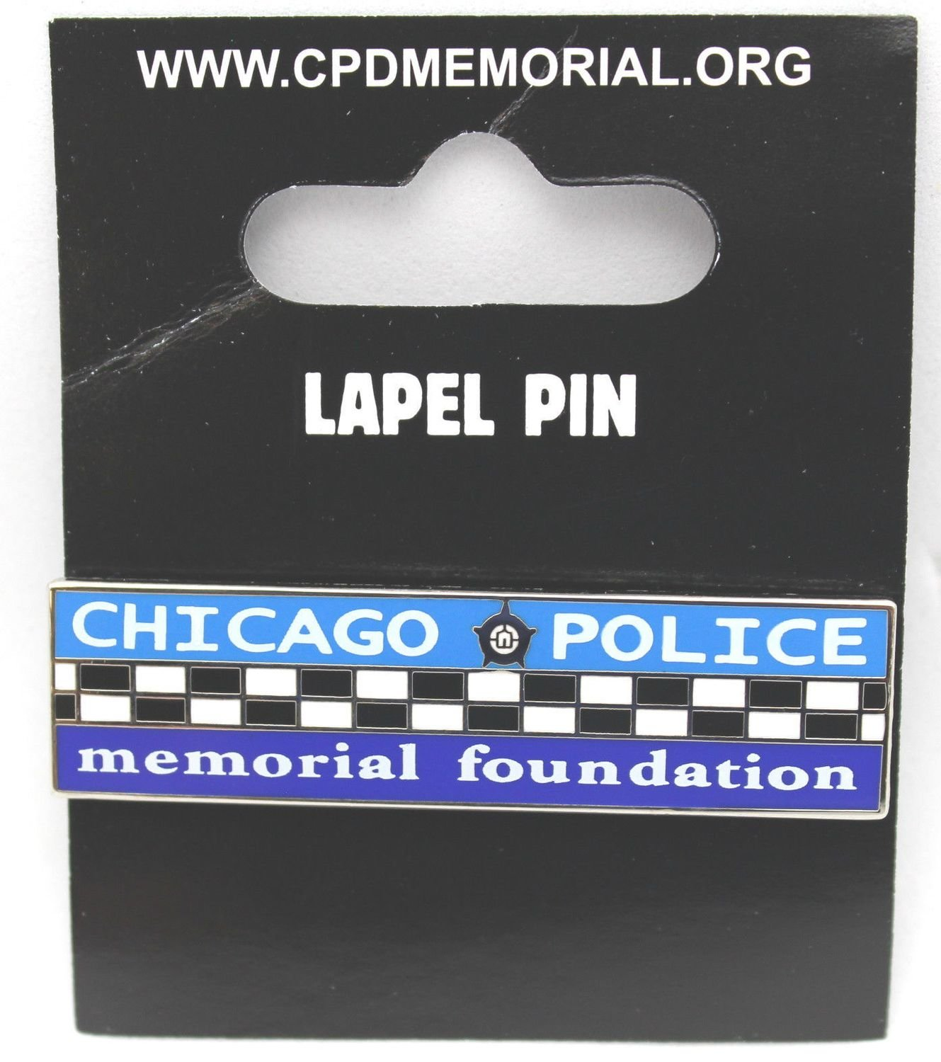 Chicago Police Memorial Bar Lapel Pin