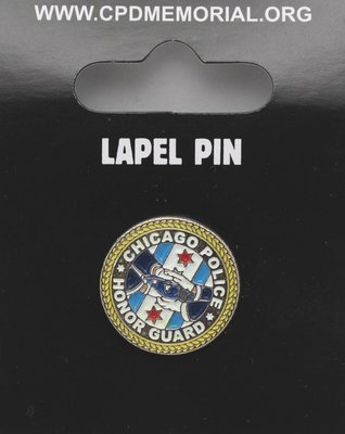 Chicago Police Honor Guard Lapel Pin