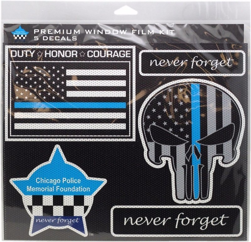 Chicago Police Memorial Foundation Premium Window Film Kit 5 Pcs