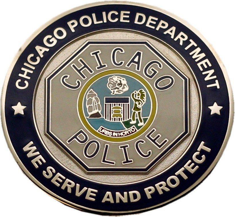 Chicago Police Star & Octagon Challenge Coin