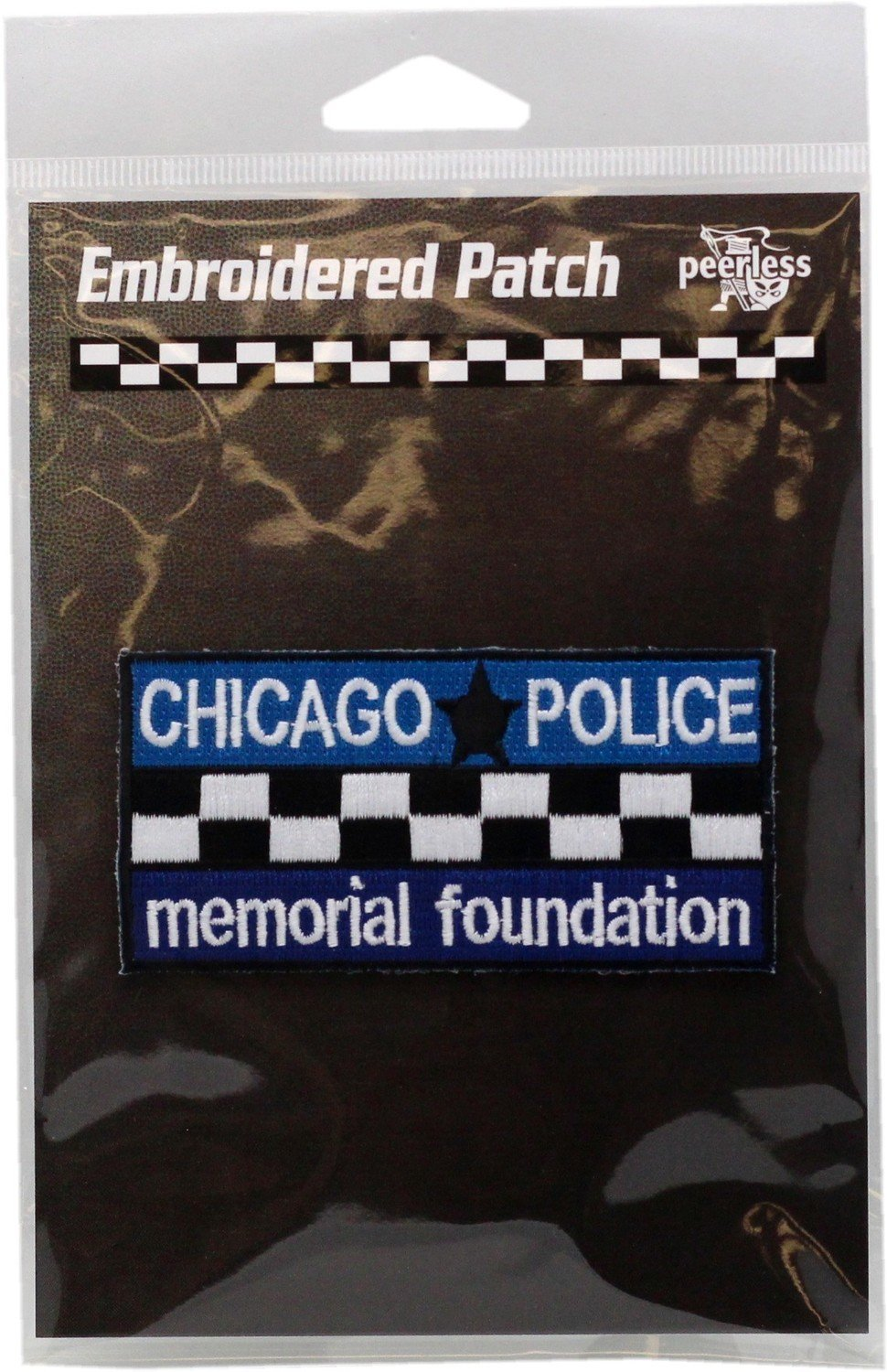 CPD Memorial Full Color Bar Patch