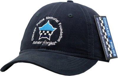 Chicago Police Memorial Navy Blue Buckle Back Hat