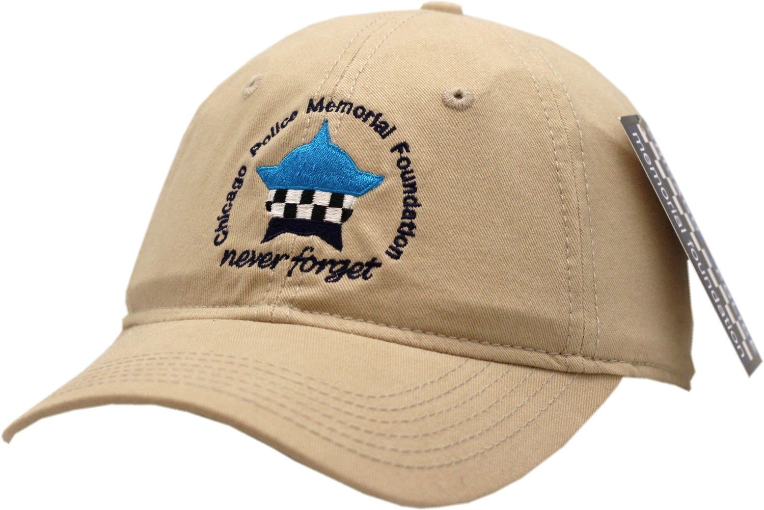 Chicago Police Memorial Khaki Buckle Back Hat