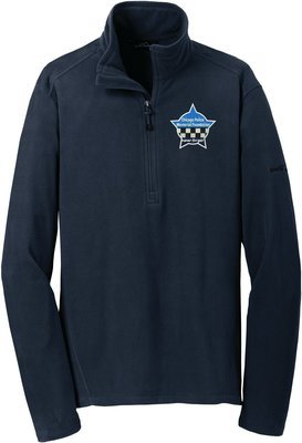 Eddie Bauer CPD Memorial Microfleece Jacket 1/2 Zip EB226