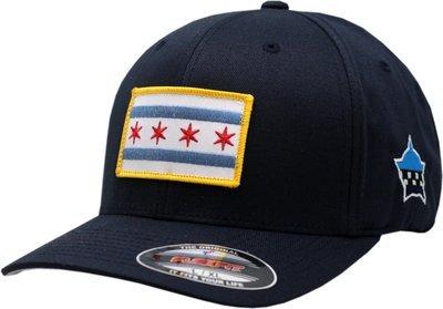 Chicago Flag Flex Fit Hat