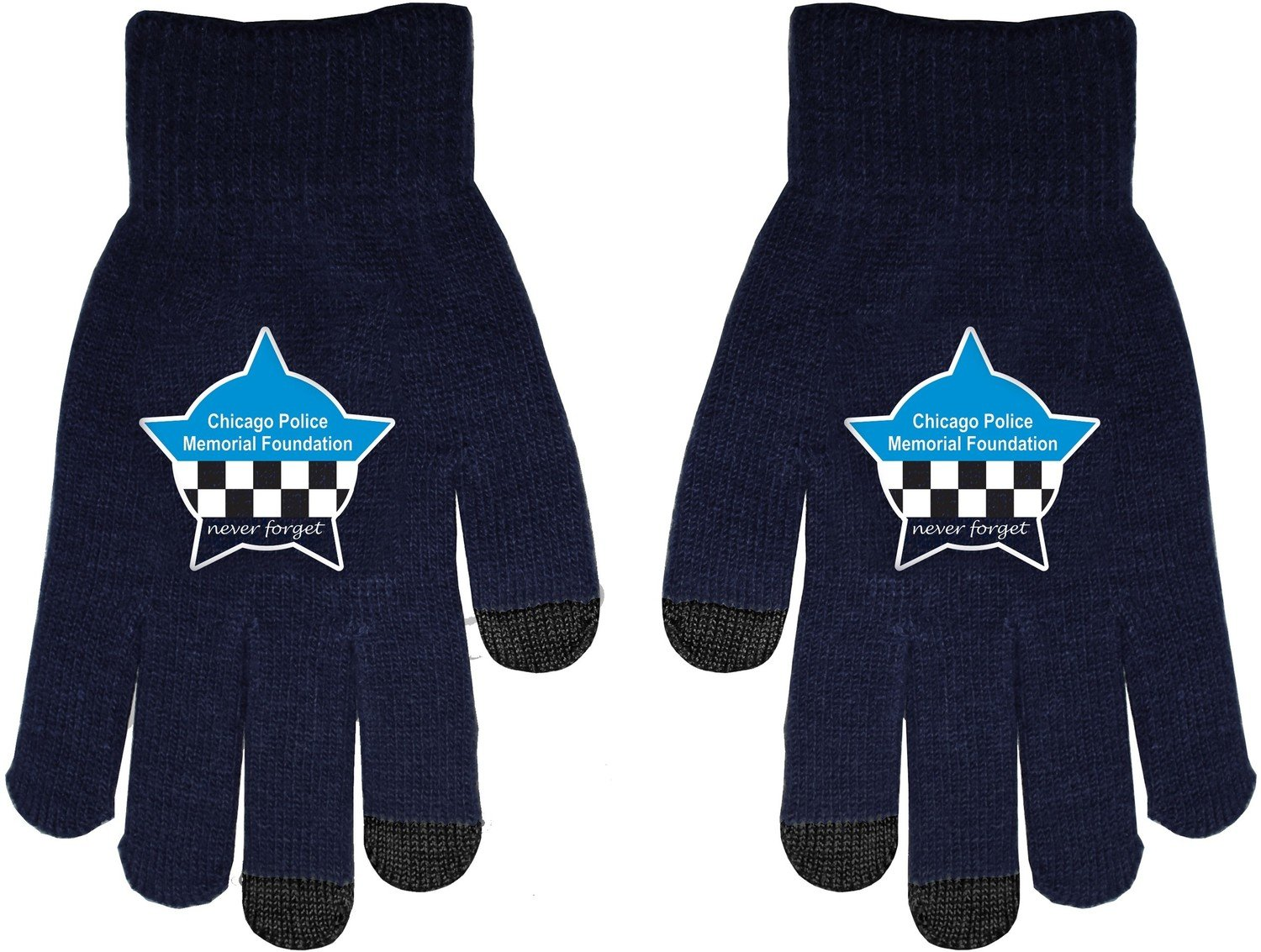 CPD Memorial Touch Screen Knit Gloves
