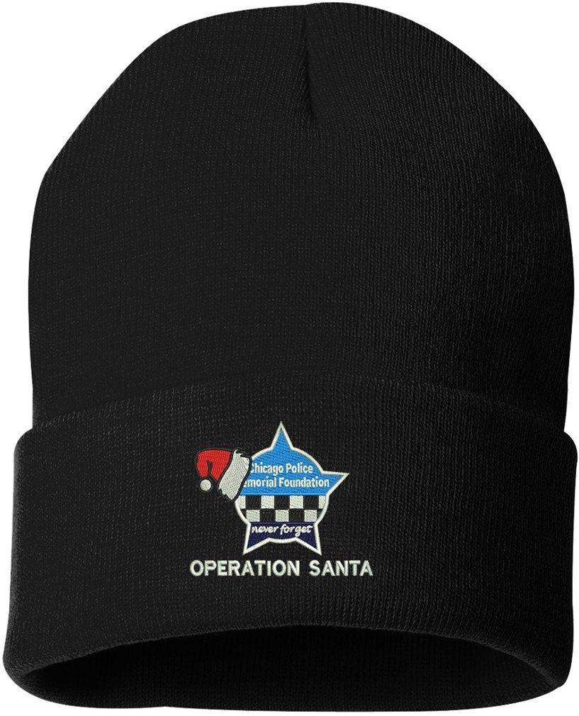 CPD Memorial Cuffed Knit Hat Operation Santa