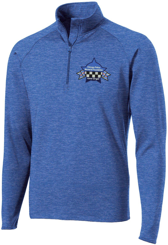 CPD Memorial Sport-Wick Stretch 1/2-Zip Pullover