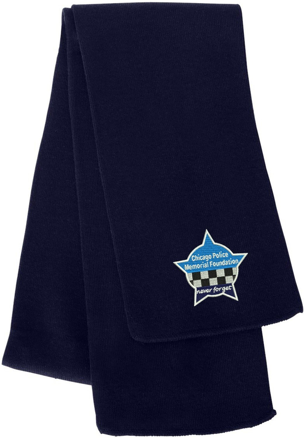 CPD Memorial Star Knit Scarf