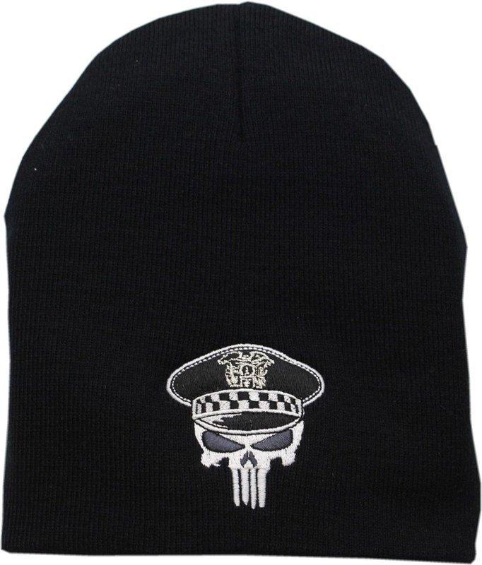 CPD Punisher Skull Knit Hat