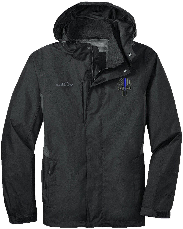 Eddie Bauer Punisher Blue Line Rain Jacket EB550