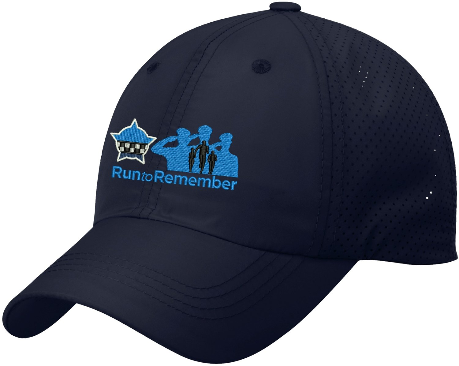 Run To Remember  Perforated Cap C821