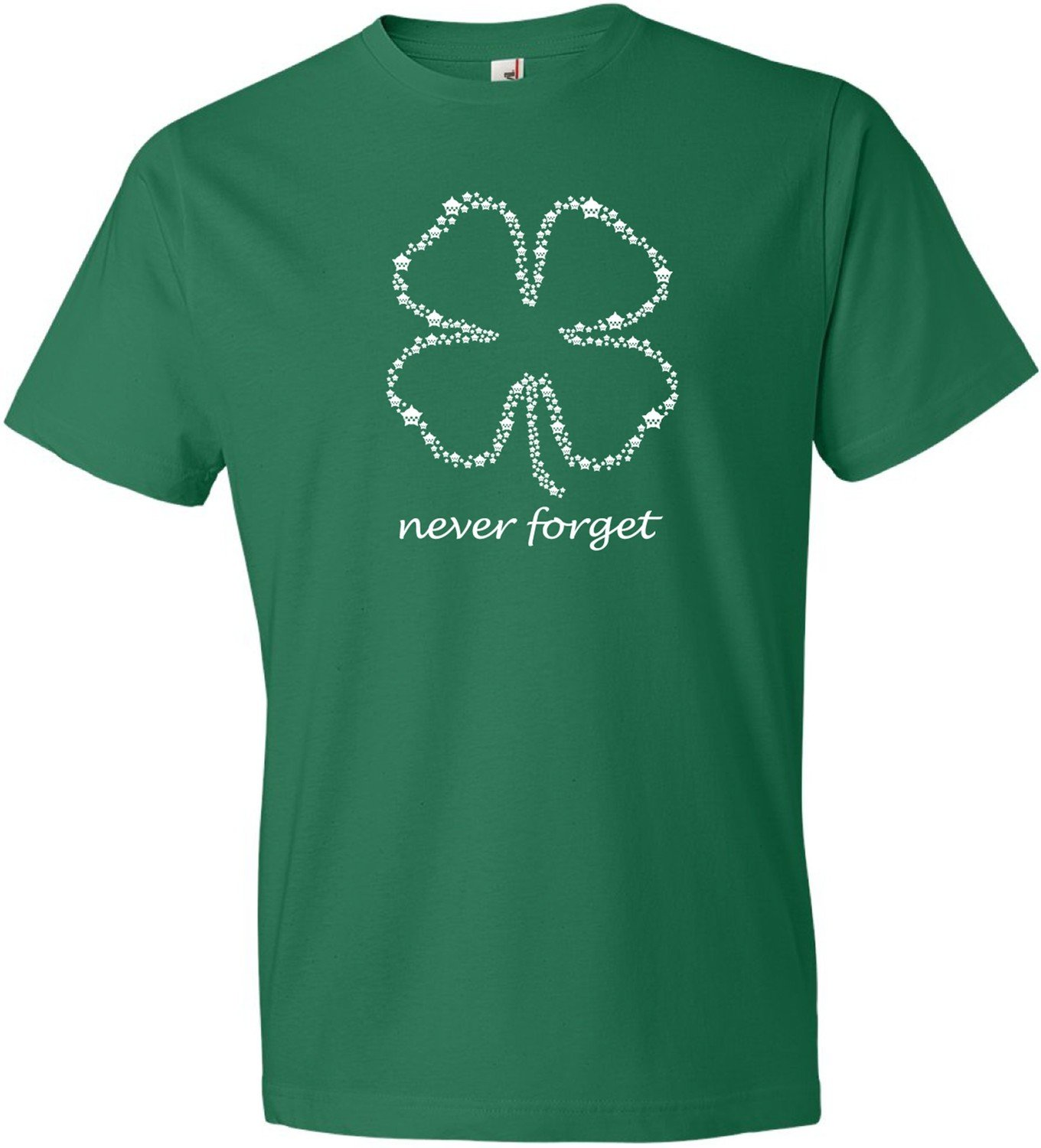 CPD Memorial Shamrock T-Shirt Never Forget