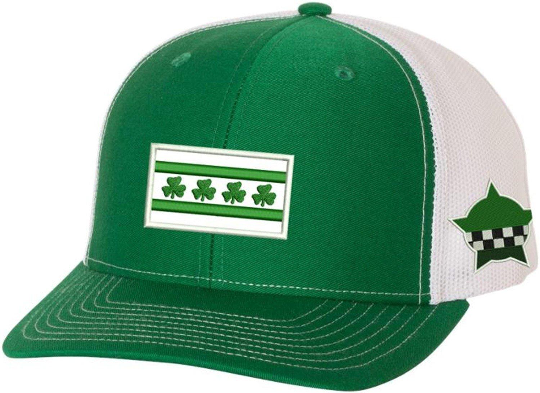Irish Chicago Flag CPD Memorial Snapback Hat