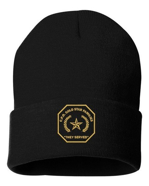 Gold Star Family Cuffed Knit Hat