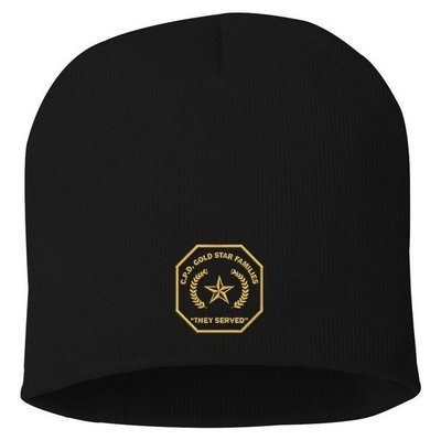 Gold Star Family Knit Hat