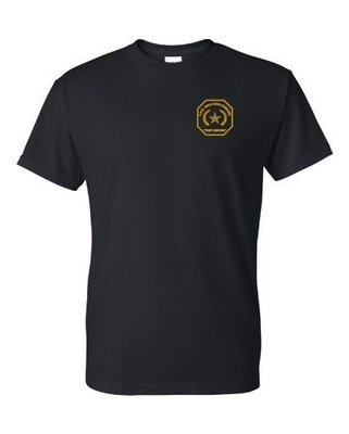 Gold Star Family Embroidered T-Shirt 8000